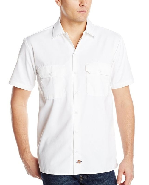 Short-Sleeve Work Shirt by Dickies  in Keeping Up With The Kardashians - Season 12 Episode 12
