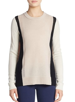 Colorblock Cashmere Sweater by Vince in How To Get Away With Murder
