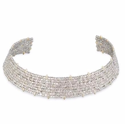 Coveteur Series 2 Crystal Choker Necklace by Alexis Bittar in Scream Queens