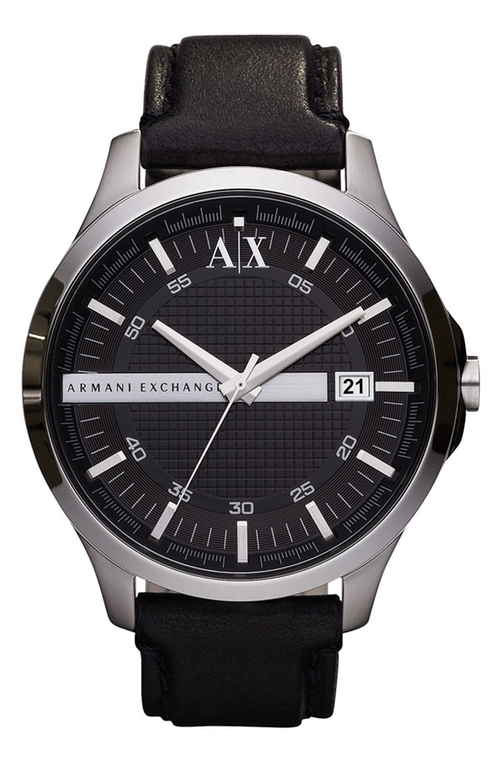 Leather Strap Watch by Armani Exchange in My All American