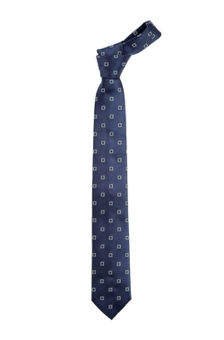 Silk Print Tie by Boss in Scandal