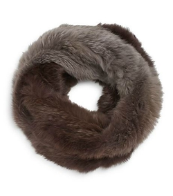 Rabbit Fur Muffler Scarf by La Fiorentina in Jessica Jones