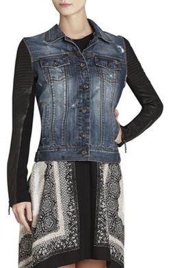 Nikki Denim Jacket by BCBGMAXAZRIA in Pretty Little Liars