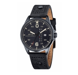 'Hawker Harrier II' Leather Strap Watch by AVI-8 in The Fate of the Furious