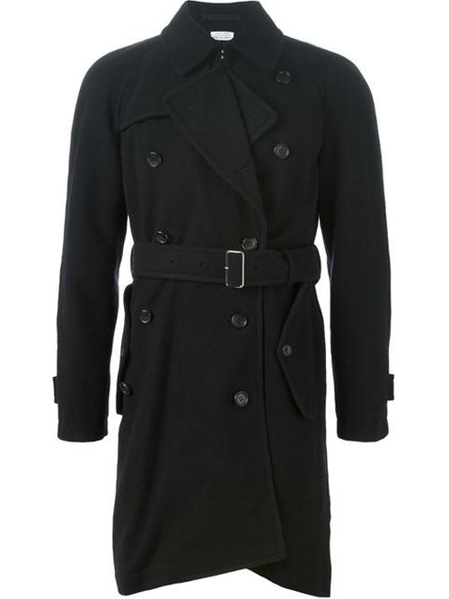 Belted Trench Coat by Comme Des Garçons Homme Plus in American Horror Story - Season 5 Episode 8