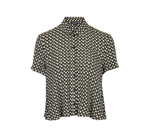 Spotty Swing Shirt by Topshop Petite in Me Before You