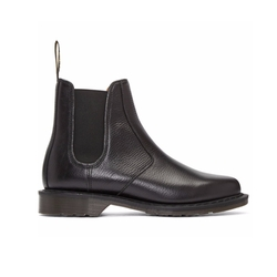 Victor Chelsea Boots by Dr. Martens in Black Panther