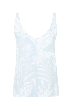 V-Neck Palm Print Cami Top by Topshop in Pretty Little Liars