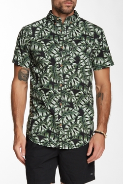 Monstera Printed Shirt by Globe in American Pie
