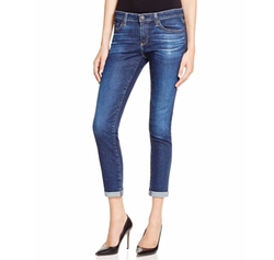 The Stilt Roll Up Jeans by AG in The Boss