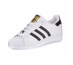 Superstar Classic Leather Sneakers by Adidas in Animal Kingdom