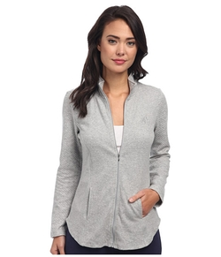Quilted Sleeves Lounge Jacket by Lauren by Ralph Lauren in Maze Runner: The Scorch Trials