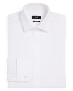 Marlyn Tux Dress Shirt by Boss Hugo Boss in GoldenEye