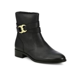 Gemini Link Leather Boots by Tory Burch in Fast 8