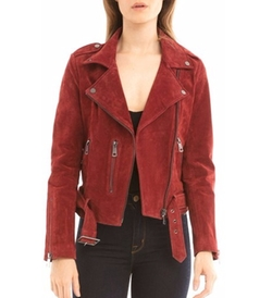 Suede Jacket by Bagatelle in The Fate of the Furious
