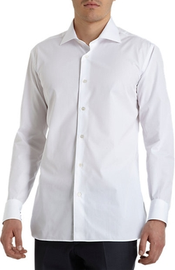 Poplin Dress Shirt by Uman in Victor Frankenstein