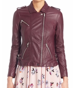 Leather Moto Jacket by Rebecca Taylor  in The Flash