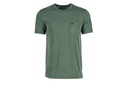 Men's Quartz Pocket T-Shirt by Volcom in Animal Kingdom