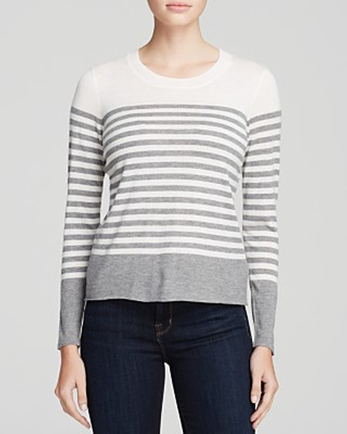 Herminia Color Block Stripe Sweater by Joie in Modern Family - Season 7 Episode 14