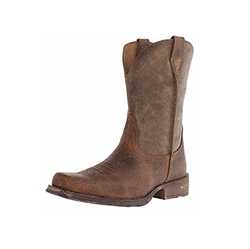 Rambler Western Cowboy Boot by Ariat in Lethal Weapon