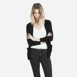 The Luxe Sweater Cardigan by Everlane in Teenage Mutant Ninja Turtles: Out of the Shadows