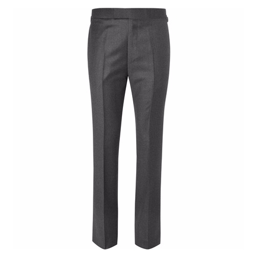 Wool-Flannel Trousers by Kingsman for Mr. Porter in Kingsman: The Secret Service