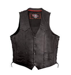 Side Lace Vest by Milwaukee Motorcycle Clothing Company in The Big Lebowski