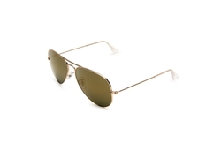 Metal Aviator Sunglasses by Ray-Ban in Gold