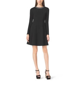 Embellished Long-Sleeve Dress by Michael Michael Kors in American Horror Story