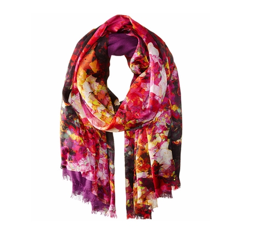 Painted Flowers Tubular Wrap Scarf by Echo Design in Lady Dynamite -  Preview