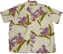 Double Orchid Hawaiian Shirt by Paradise Found in Ride Along 2