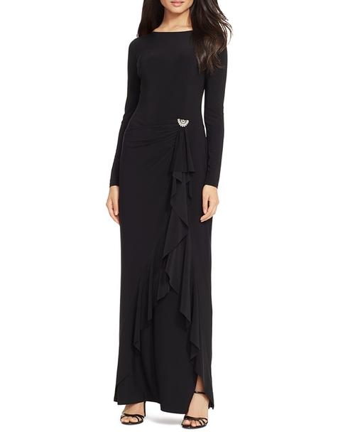 Ruffle Detail Gown by Lauren Ralph Lauren in The Living Daylights