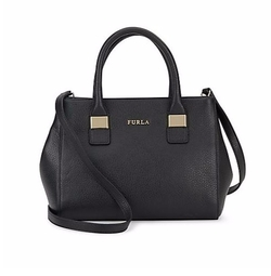 Amelia Leather Satchel by Furla in Mistresses