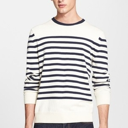 Chase Stripe Crewneck Sweater by Rag & Bone in Scream Queens