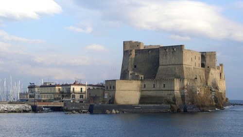 Ovo Castle Napoli, Italy in The Man from U.N.C.L.E.