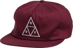 Triple Triangle Snapback Hat by Huf in Ocean's Eleven