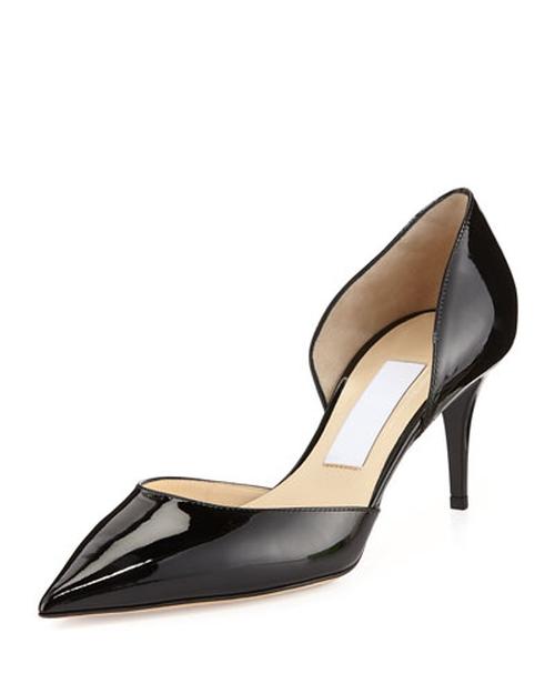 Mariella Patent d'Orsay Pump Shoes by Jimmy Choo in Pretty Little Liars - Season 6 Episode 11