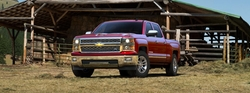 Silverado 1500 Pickup Truck by Chevrolet in Ride Along 2