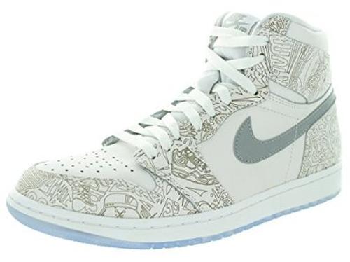 Men's Jordan 1 Retro Laser Basketball Shoe by Nike in Ballers - Season 1 Episode 1