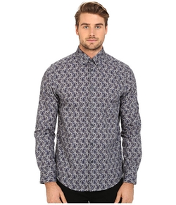 Multi Colour Paisley Woven Shirt by Ben Sherman in Master of None