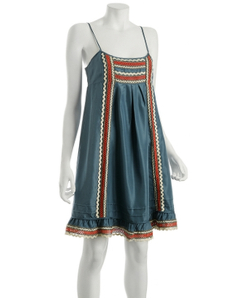 Silk Appliqué Dress by BCBGMAXAZRIA in High School Musical 3: Senior Year