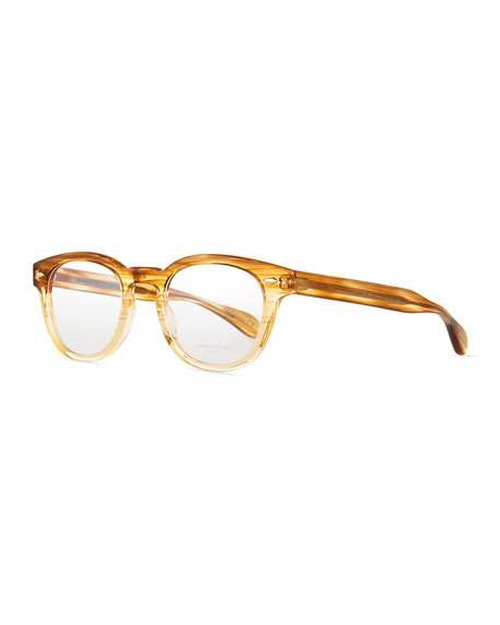 Sheldrake Streaked Fashion Glasses by Oliver Peoples in The Wolf of Wall Street