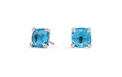 Châtelaine Hampton Blue Topaz Stud Earrings by David Yurman in Girls Trip