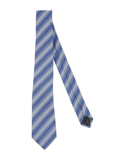Plain Weave Tie by Moschino in Black Mass