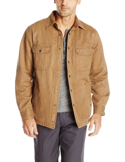 Hunter Distressed Shirt Jacket by Dakota Grizzly in The Big Bang Theory