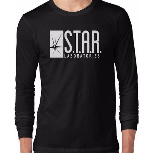 Long Sleeve T-Shirt by STAR Labs in Arrow