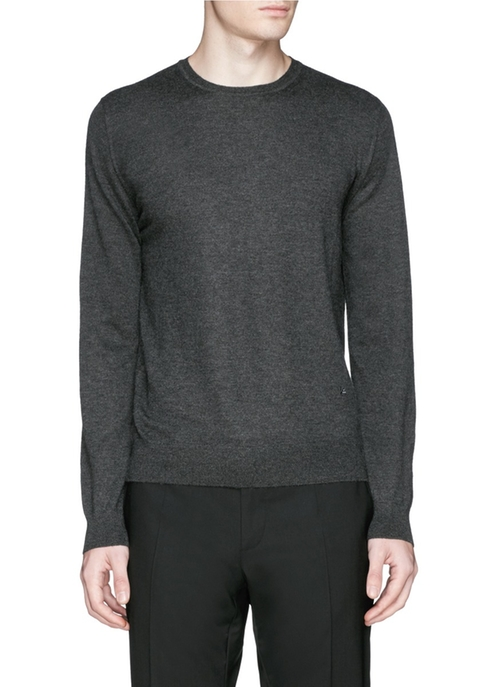 Cashmere Crew Neck Sweater by Isaia in Empire - Season 2 Episode 9
