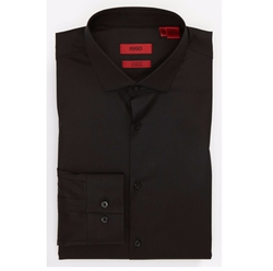 Slim Fit Cotton Stretch Dress Shirt by Hugo in The Age of Adaline