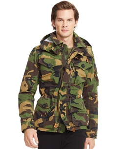 Camo Military Jacket by Polo Ralph Lauren in Ashby