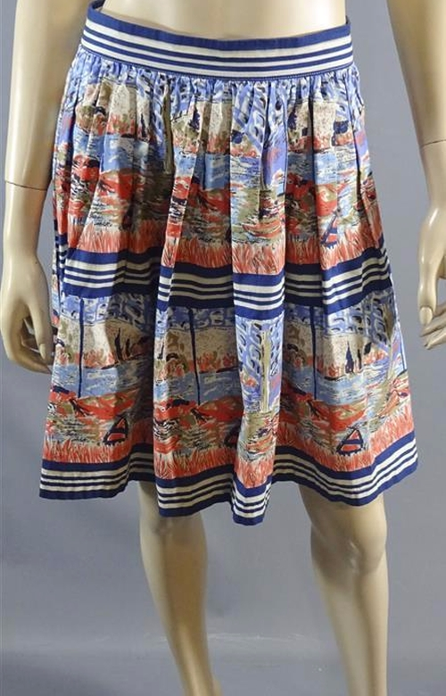 Printed Skirt by New Look in Me Before You